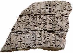 The Sumerians invented writing