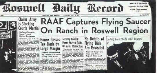 Image result for the roswell incident